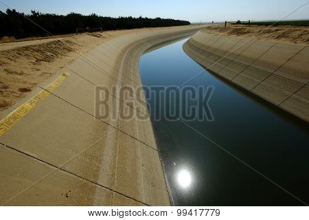 Low Water in Canal