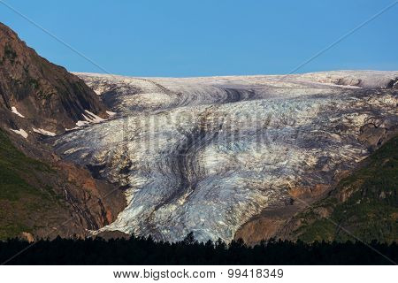 Exit Glacier, Kenai Fjords National Park, Seward, Alaska
