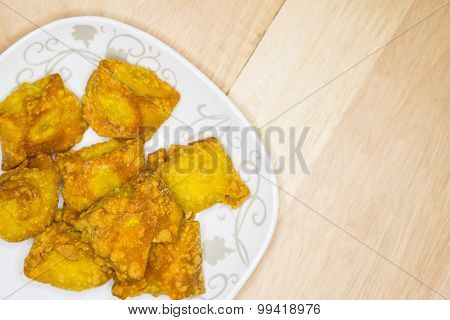 Thai fried wonton