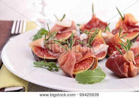fig and prosciutto
