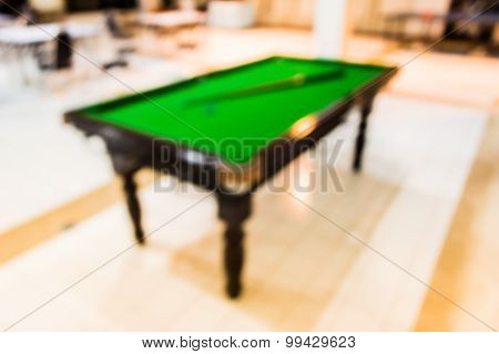 Blur Snooker Table