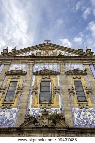 Church Of Congregados - Igreja Dos Congregados, Built In 1703 And Covered With Typical Portuguese