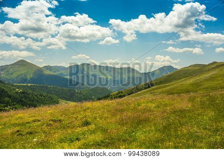 Mountain And Valley