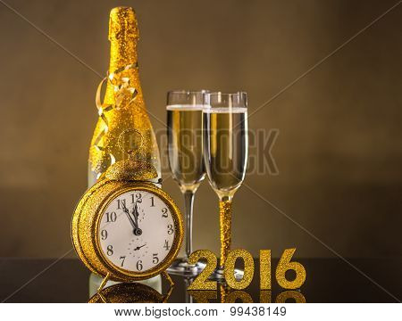 2016 New Year Concept