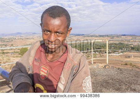 Ethiopian Teenage Boy