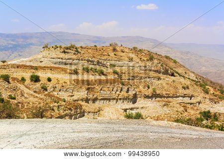 Mountain Landscape In Ethiopia