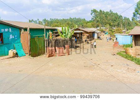 Small Village In Ethiopia