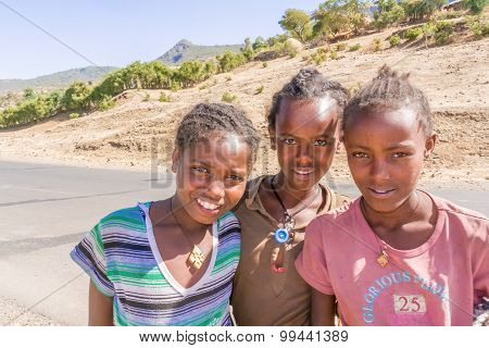 Children In Ethiopia