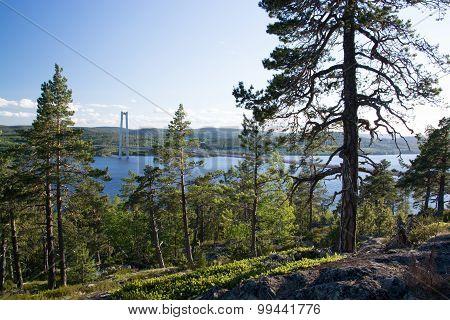 Hoegakustenbron, Angermanaelven, Sweden