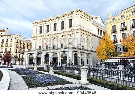 Teatro opera house, Madrid, Spain