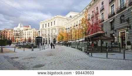 Plaza de Oriente, Madrid Spain