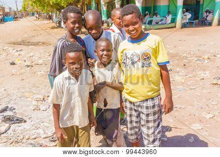 Boys In El Suki , Sudan.