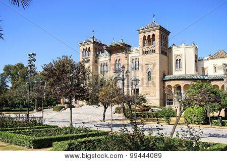 Mudejar Pavilion, Seville, Spain