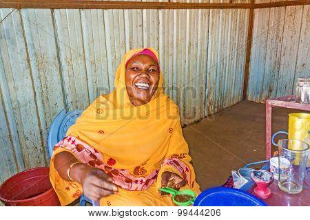 Sudanese Woman Portrait