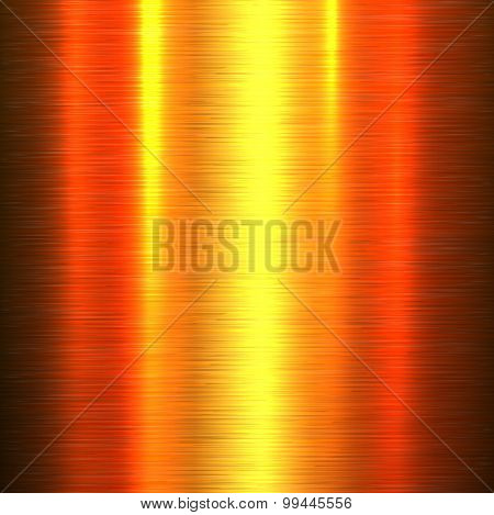 Metal background, polished metallic texture, vector illustration.