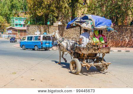 Gondar City Traffic