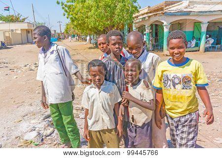 People In El Suki , Sudan.