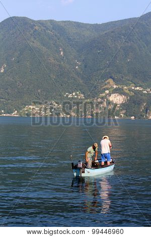 Lugano Lake Fishing