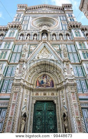 Santa Maria del Fiore cathedral in Florence, Italy
