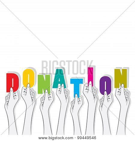 donation banner concept design