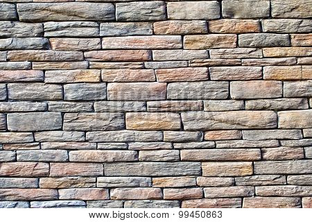 Background of colored rough solid stone