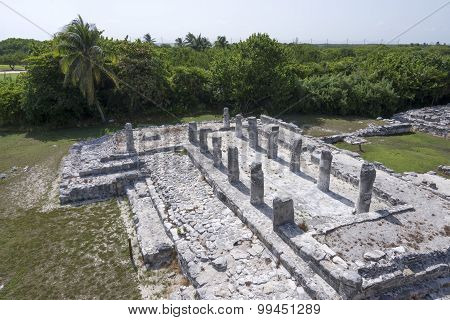 El Rey Ruins In Cancun