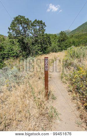 Hiking, Biking, And Riding Trail