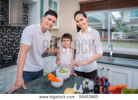 Asian Family Kitchen