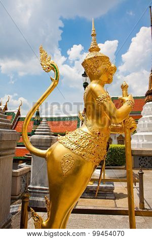 Side Of Garuda Sculpture