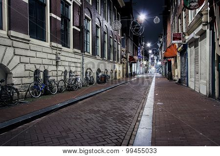 The Oude Hoogstraat, Amsterdam, Netherlands