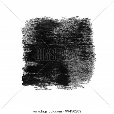 Black Grungy Abstract  Painted Background