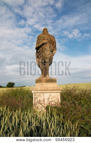 Statue Of Saint Onufrius