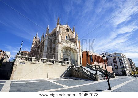 St Geromimo the Royal church, Madrid, Spain
