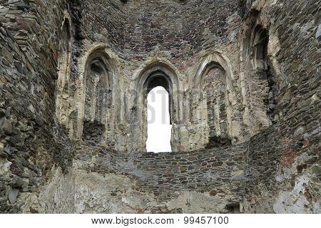 Gothic Window - Okor Castle