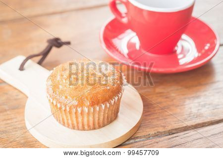 Banana Cup Cake And Espresso