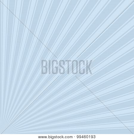 Beau blue Color Stripe Funky Sun Rays Backgound