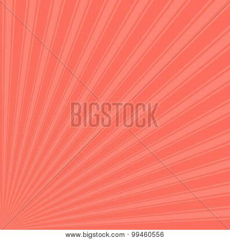 Bittersweet Color Stripe Funky Sun Rays Backgound