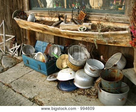 Pots Pans And Barn