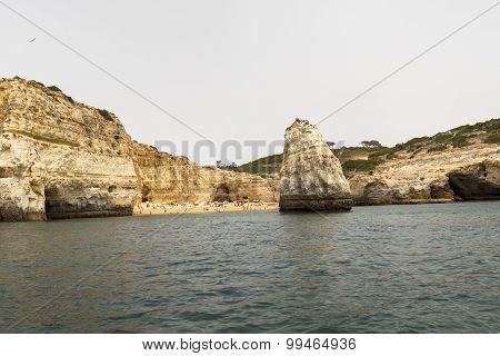Benagil Beach Caves, Algarve, Portugal