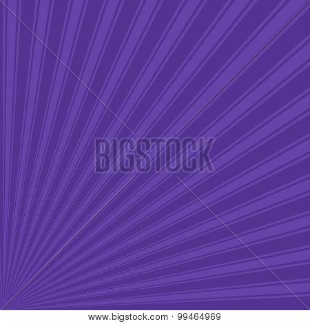 Blue-magenta violet Color Stripe Funky Sun Rays Backgound