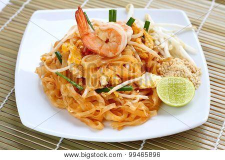Pad Thai Shrimp.