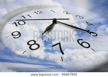 Clouds And Clock
