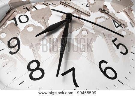 Keys And Clock