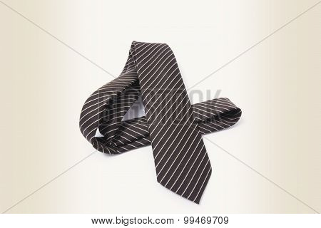Pinstriped Necktie