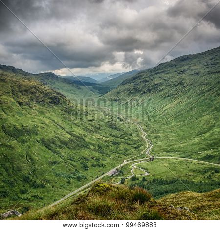 Glen Kinglas, Scottish Highlands