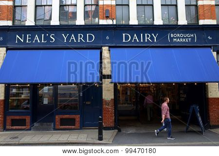 Neal's Yard Dairy in London