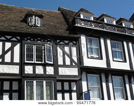 Medieval Tudor framed houses