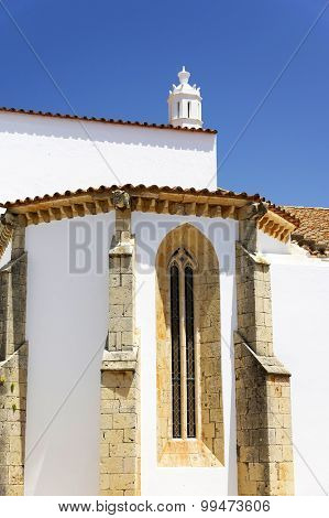 Architectural detail in Faro, Algarve, Portugal