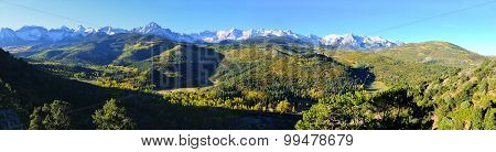 Panoramic Alpine Scenery Of Colorado