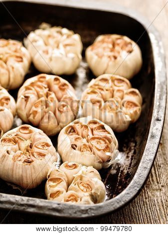 Rustic Roasted Garlic